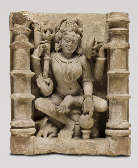 Shiva Combined with His Wife Parvati (Ardhanarishvara)