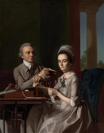 Portrait of Mr. and Mrs. Thomas Mifflin (Sarah Morris)